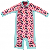 Pop-In Toddler Snug Suit Kokeshi Dolls
