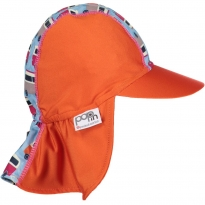 Pop-In Sun Hat Blue Camper