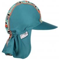 Pop-In Sun Hat Green Camper