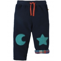 Frugi Moon & Star Cord Patch Trousers