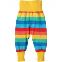 Frugi Rainbow Stripe Parsnip Pants