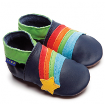 Inch Blue Rainbow Star Shoes