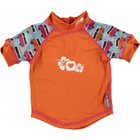 Pop-In Rash Vest - Blue Camper