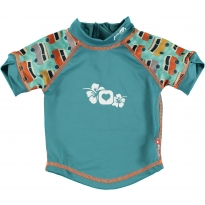 Pop-In Rash Vest - Green Camper