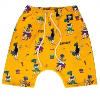 Raspberry Republic Samba de Janeiro Sweat Shorts