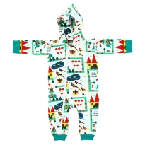 Raspberry Republic Royal Ribbit Onesie