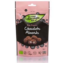 Chocolate Almond Pouch 110g - Raw Chocolate Company