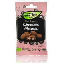 Chocolate Almond Snack Pack 25g - Raw Chocolate Company