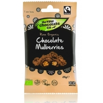 Chocolate Mulberries Snack Pack 28g - Raw Chocolate Company