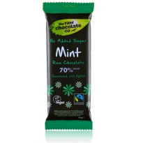Mint with Xylitol 44g Bar - Raw Chocolate Company