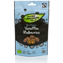 Vanoffee® Mulberries Pouch 125g - Raw Chocolate Company