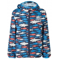 Frugi Shark About Puddle Buster Jacket