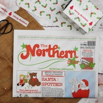 Northern Star Recycled Wrapping Paper
