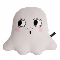 Roommate Off White Ghost Cushion