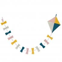 Roommate Multicoloured Kite Garland