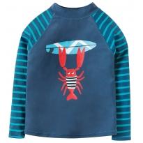 Frugi Lobster Sun-Safe Rash Vest