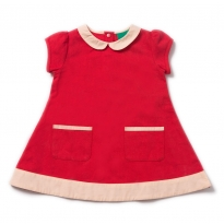 LGR Pillar Box Red Tunic Dress