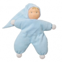 Peppa Blue Sarah Waldorf Doll - 22cm