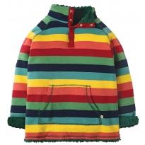 Frugi Rainbow Marl Snuggle Fleece