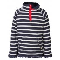 Frugi Navy Breton Snuggle Fleece