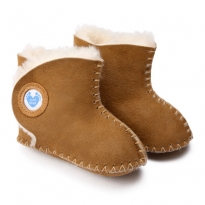 Cwtch Sheepskin Boots - Tan