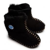 Cwtch Sheepskin Boots - Black