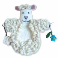 Sew Heart Felt Sheep Puppet