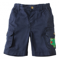 Frugi Frog Little Explorer Shorts