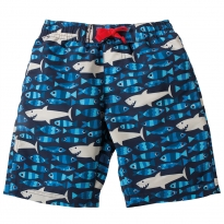 Frugi Sharks Little Board Shorts
