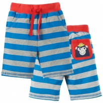 Frugi Monkey Little Stripey Shorts