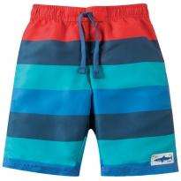Frugi Swim Stripe Board Shorts