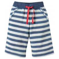 Frugi Grey Marl Samson Shorts