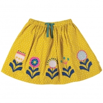 Frugi Flowers Tabby Twirly Skirt