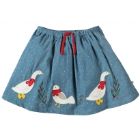 Frugi Goose Tabby Twirly Skirt
