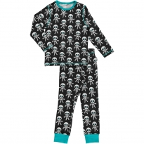 Maxomorra Skeleton LS Pyjamas