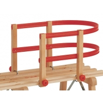Wooden Sledge Child Seat