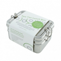 Two-Tier Lunch Box & Mini Container - A Slice Of Green