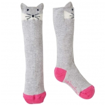 Frugi Arctic Fox Friendly Face Socks