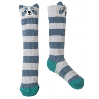 Frugi Raccoon Friendly Face Socks