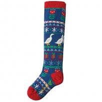 Frugi Goose Fairisle Skye High Socks