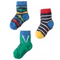 Frugi Crocodile Rock My Socks 3-Pack