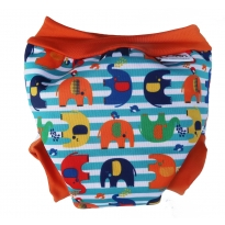 Pop-in Swim Nappy Stripe Elephant