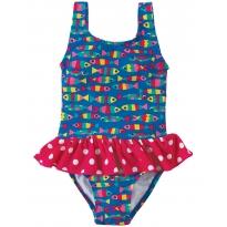 Frugi Festival Fish Little Sally Swimsuit