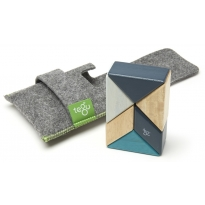 Tegu Blues 6 Piece Pocket Pouch