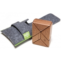 Tegu Mahogany 6 Piece Pocket Pouch