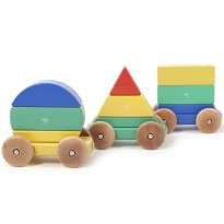 Tegu Big Top Magnetic Shape Train