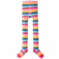 Frugi Pink Rainbow Norah Tights