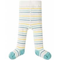 My First Frugi Blue Stripe Teeny Tights