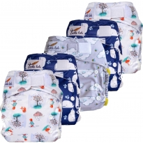 Tickle Tots 2 Hybrid Nappy 5-Pack
