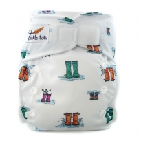 Tickle Tots AIO Nappy - Wellies